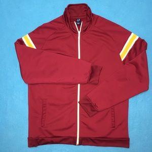 GAP ZipUp Sweater Turtleneck Large 100% Polyester